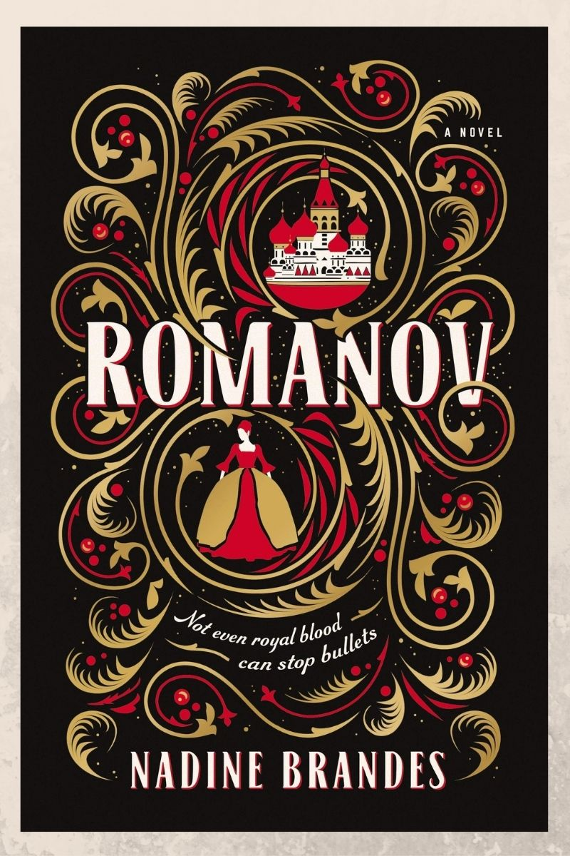 Romanov by Nadine Brandes book cover