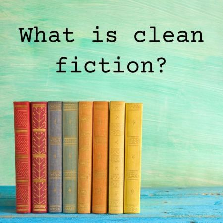 What is clean fiction book stack
