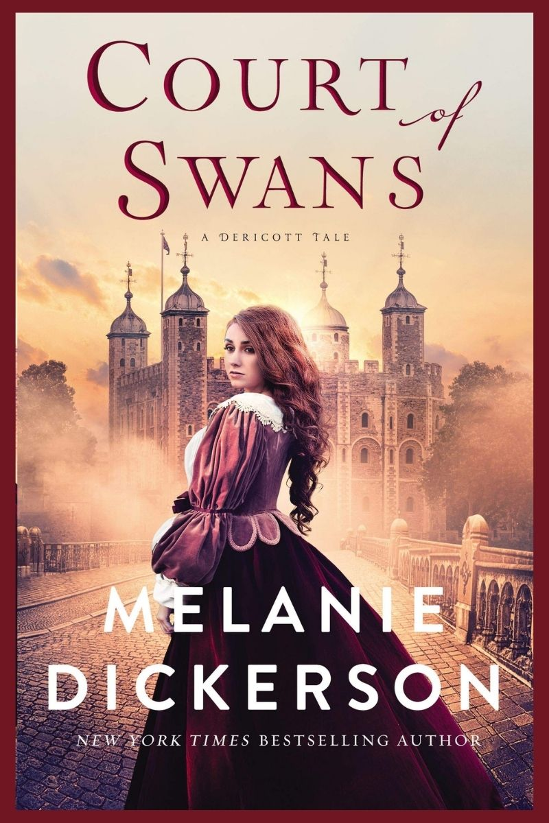 book cover of Court of Swans by Melanie Dickerson